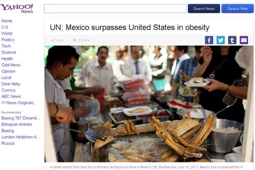 世界で最も肥満している人が多い国は? 肥満率の高い国トップ20