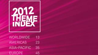 2012年世界のテーマパークの来場者ランキング
