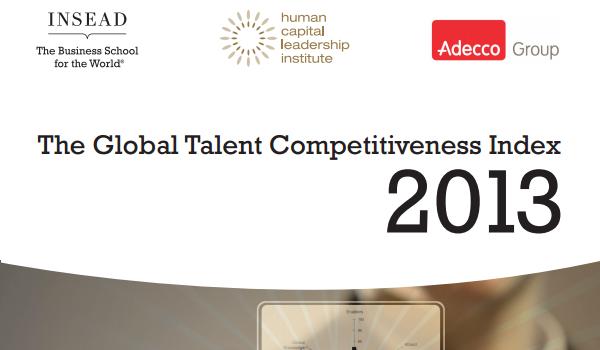世界で最も国際人材の競争力が高い国は? INSEAD(インシアド)の国際人材競争力指数ランキング