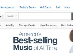 アマゾンで歴代で最も売れた音楽ランキング