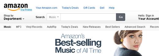 アマゾンの歴代で最も売れた音楽とは? アマゾンで歴代で最も売れた音楽ランキング