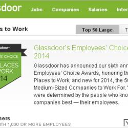 グラスドア 従業員が選ぶベスト企業