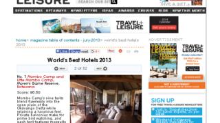 2013年ワールドベストホテル500