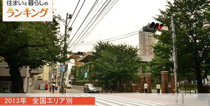 2013年一番人気だった街は? 全国エリア別2013年人気の街ランキング