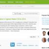2014年版最高経営責任者(CEO)支持率ランキング