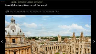 「デイリー・テレグラフ」が選んだ「世界の美しい大学」16校