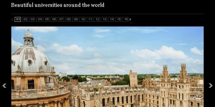 イギリスの一般紙「デイリー・テレグラフ」が選んだ「世界の美しい大学」16校
