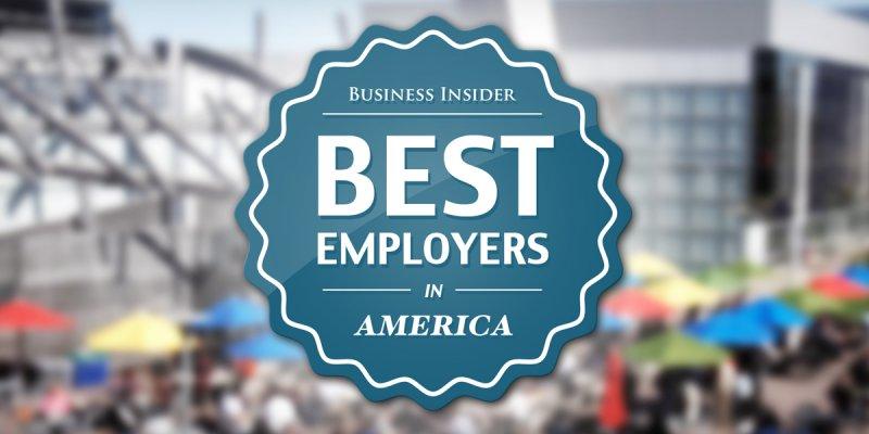 アメリカのベスト企業トップ50