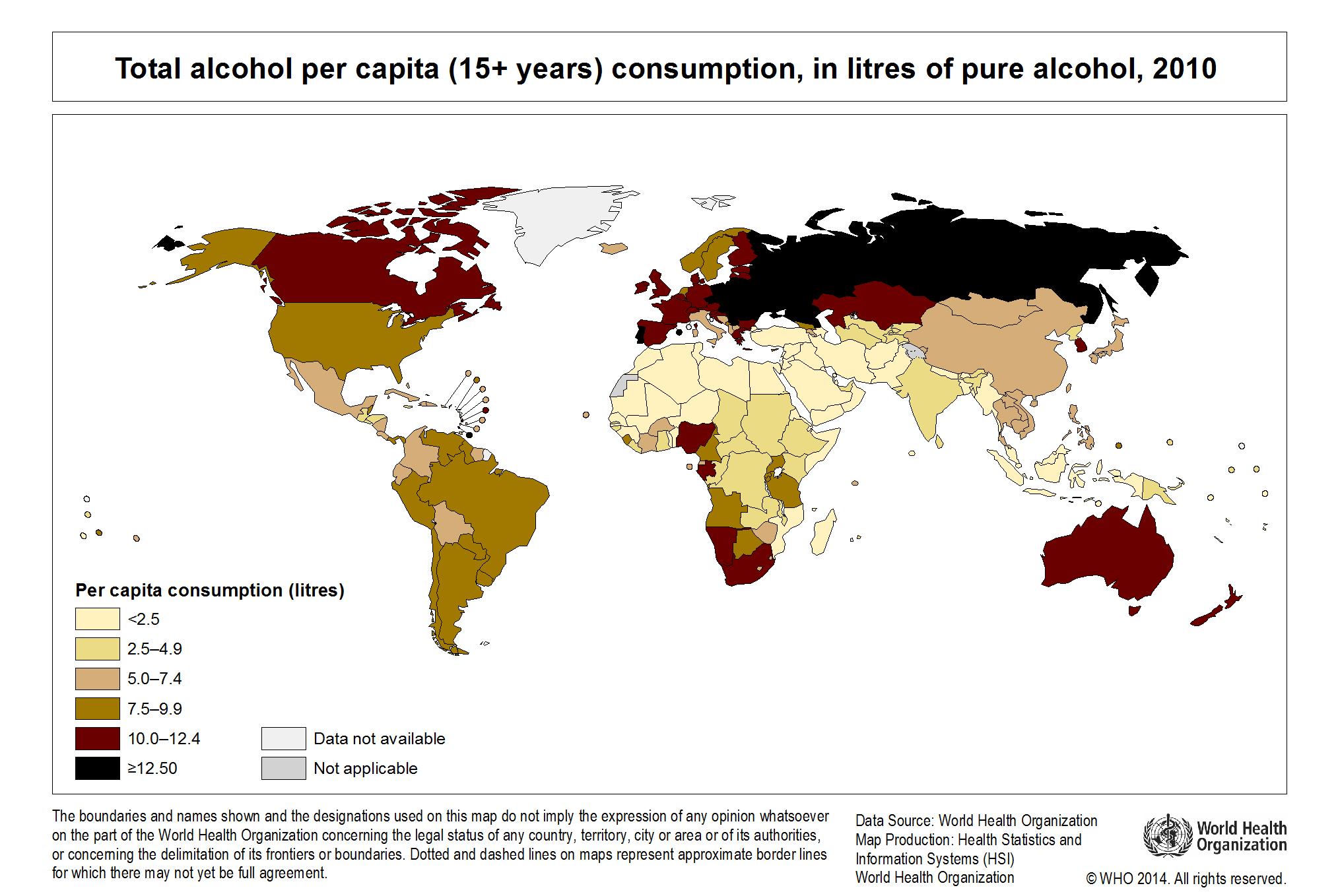 2014年世界のアルコールと健康レポート