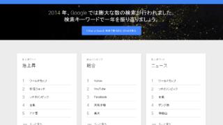 2014年急上昇検索キーワード