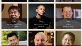 2015年度アジアのベストレストラン50
