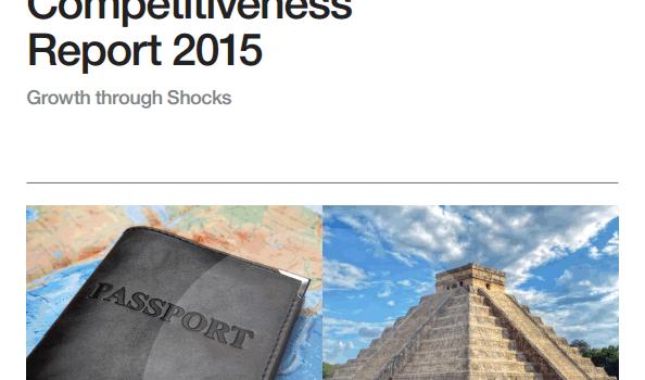 2015年観光競争力ランキング by 世界経済フォーラム