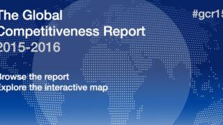 2015年版国際競争力ランキング by 世界経済フォーラム