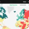 2015年版世界平和度指数 グローバルランキング