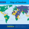2014年世界自由度マップ