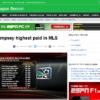 アメリカのプロサッカーリーグ「メジャーリーグサッカー」年俸ランキング - ESPN
