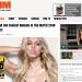 2014年世界で最もセクシーな女性は? FHM誌の世界で最もセクシーな女性100人ランキング